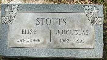 STOTTS, ELISE - Coconino County, Arizona | ELISE STOTTS - Arizona Gravestone Photos