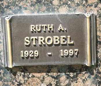 STROBEL, RUTH A. - Coconino County, Arizona | RUTH A. STROBEL - Arizona Gravestone Photos