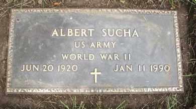 SUCHA, ALBERT - Coconino County, Arizona | ALBERT SUCHA - Arizona Gravestone Photos