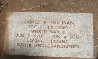 SULLIVAN, JAMES R. - Coconino County, Arizona | JAMES R. SULLIVAN - Arizona Gravestone Photos