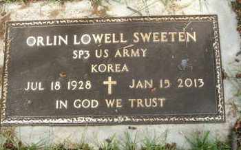 SWEETEN, ORLIN LOWELL - Coconino County, Arizona | ORLIN LOWELL SWEETEN - Arizona Gravestone Photos