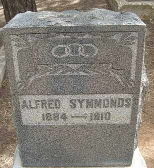 SYMMONDS, ALFRED - Coconino County, Arizona | ALFRED SYMMONDS - Arizona Gravestone Photos