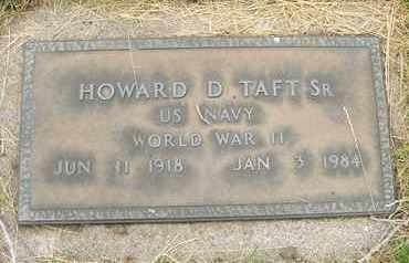 TAFT, SR., HOWARD D. - Coconino County, Arizona | HOWARD D. TAFT, SR. - Arizona Gravestone Photos