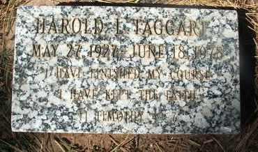 TAGGART, HAROLD L. - Coconino County, Arizona   HAROLD L. TAGGART - Arizona Gravestone Photos