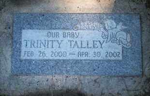 TALLEY, TRINITY - Coconino County, Arizona | TRINITY TALLEY - Arizona Gravestone Photos