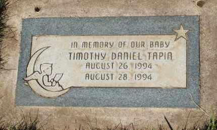 TAPIA, TIMOTHY DANIEL - Coconino County, Arizona | TIMOTHY DANIEL TAPIA - Arizona Gravestone Photos