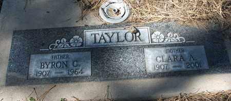 TAYLOR, BYRON C. - Coconino County, Arizona | BYRON C. TAYLOR - Arizona Gravestone Photos