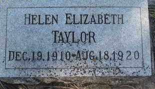 TAYLOR, HELEN ELIZABETH - Coconino County, Arizona | HELEN ELIZABETH TAYLOR - Arizona Gravestone Photos