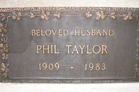 TAYLOR, PHIL - Coconino County, Arizona | PHIL TAYLOR - Arizona Gravestone Photos