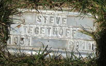 TEGETHOFF, STEVE - Coconino County, Arizona | STEVE TEGETHOFF - Arizona Gravestone Photos
