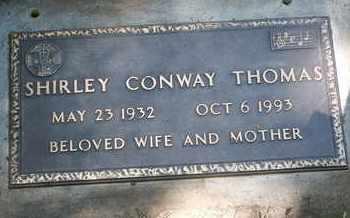 CONWAY THOMAS, SHIRLEY - Coconino County, Arizona | SHIRLEY CONWAY THOMAS - Arizona Gravestone Photos