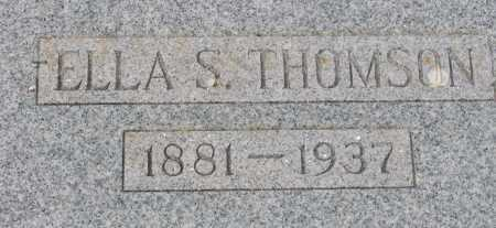 THOMSON, ELLA S. - Coconino County, Arizona | ELLA S. THOMSON - Arizona Gravestone Photos