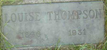 THOMPSON, LOUISE - Coconino County, Arizona | LOUISE THOMPSON - Arizona Gravestone Photos