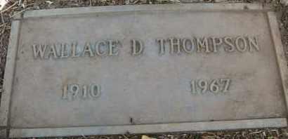 THOMPSON, WALLACE D. - Coconino County, Arizona | WALLACE D. THOMPSON - Arizona Gravestone Photos