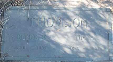 THOMSON, IDA E. - Coconino County, Arizona | IDA E. THOMSON - Arizona Gravestone Photos