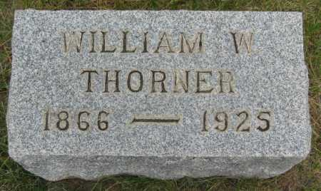 THORNER, WILLIAM W - Coconino County, Arizona | WILLIAM W THORNER - Arizona Gravestone Photos