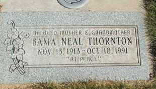THORNTON, BAMA - Coconino County, Arizona   BAMA THORNTON - Arizona Gravestone Photos