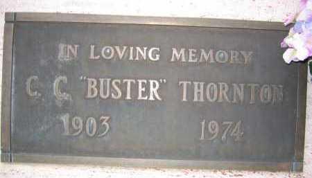 "THORTON, C. C. ""BUSTER"" - Coconino County, Arizona | C. C. ""BUSTER"" THORTON - Arizona Gravestone Photos"