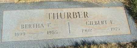 THURBER, GILBERT E, - Coconino County, Arizona | GILBERT E, THURBER - Arizona Gravestone Photos