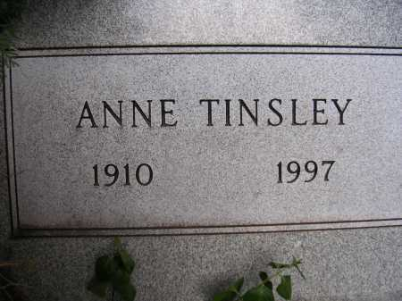 TINSLEY, ANNE - Coconino County, Arizona   ANNE TINSLEY - Arizona Gravestone Photos