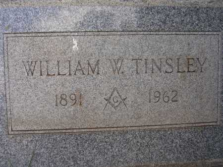 TINSLEY, WILLIAM W. - Coconino County, Arizona | WILLIAM W. TINSLEY - Arizona Gravestone Photos