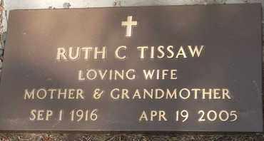 TISSAW, RUTH C. - Coconino County, Arizona | RUTH C. TISSAW - Arizona Gravestone Photos