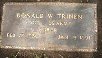 TRINEN, DONALD W. - Coconino County, Arizona | DONALD W. TRINEN - Arizona Gravestone Photos