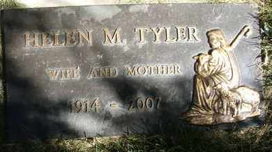 TYLER, HELEN M. - Coconino County, Arizona | HELEN M. TYLER - Arizona Gravestone Photos