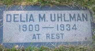 UHLMAN, DELIA M. - Coconino County, Arizona   DELIA M. UHLMAN - Arizona Gravestone Photos