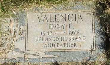 VALENCIA, TONY E. - Coconino County, Arizona | TONY E. VALENCIA - Arizona Gravestone Photos
