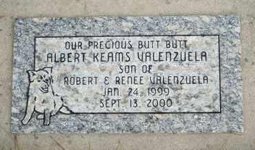VALENZUELA, ALBERT KEAMS - Coconino County, Arizona | ALBERT KEAMS VALENZUELA - Arizona Gravestone Photos