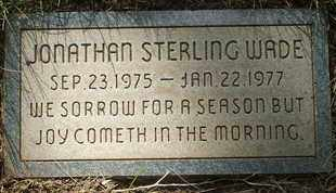 WADE, JONATHAN STERLING - Coconino County, Arizona | JONATHAN STERLING WADE - Arizona Gravestone Photos