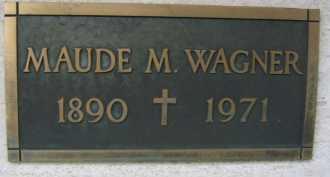 WAGNER, MAUDE M. - Coconino County, Arizona | MAUDE M. WAGNER - Arizona Gravestone Photos