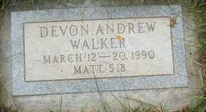 WALKER, DEVON ANDREW - Coconino County, Arizona | DEVON ANDREW WALKER - Arizona Gravestone Photos