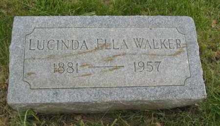 WALKER, LUCINDA ELLA - Coconino County, Arizona | LUCINDA ELLA WALKER - Arizona Gravestone Photos