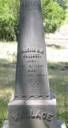 WALLACE, ISABELLA B. W. - Coconino County, Arizona | ISABELLA B. W. WALLACE - Arizona Gravestone Photos