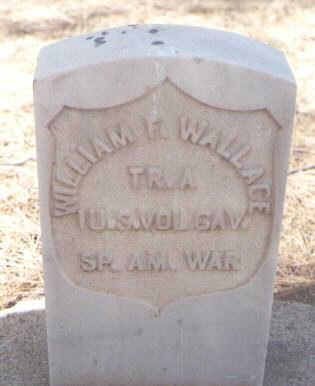 WALLACE, WILLIAM F. - Coconino County, Arizona | WILLIAM F. WALLACE - Arizona Gravestone Photos