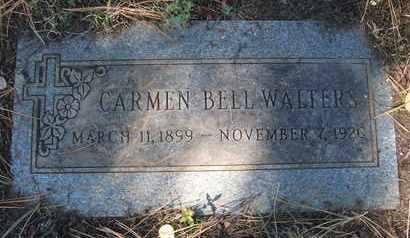 WALTERS, CARMEN BELL - Coconino County, Arizona | CARMEN BELL WALTERS - Arizona Gravestone Photos