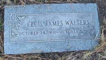 WALTERS, CECIL JAMES - Coconino County, Arizona | CECIL JAMES WALTERS - Arizona Gravestone Photos