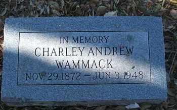 WAMMACK, CHARLEY ANDRES - Coconino County, Arizona   CHARLEY ANDRES WAMMACK - Arizona Gravestone Photos