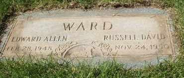 WARD, EDWARD ALLEN - Coconino County, Arizona | EDWARD ALLEN WARD - Arizona Gravestone Photos