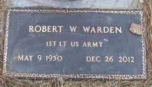WARDEN, ROBERT W. - Coconino County, Arizona | ROBERT W. WARDEN - Arizona Gravestone Photos
