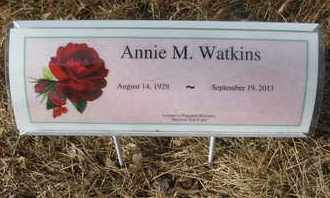 WATKINS, ANNIE M. - Coconino County, Arizona | ANNIE M. WATKINS - Arizona Gravestone Photos
