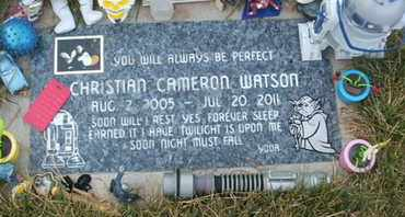 WATSON, CHRISTIAN CAMERON - Coconino County, Arizona | CHRISTIAN CAMERON WATSON - Arizona Gravestone Photos