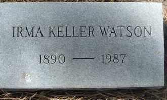 KELLER WATSON, IRMA - Coconino County, Arizona | IRMA KELLER WATSON - Arizona Gravestone Photos