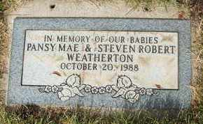WEATHERTON, PANSY MAE - Coconino County, Arizona | PANSY MAE WEATHERTON - Arizona Gravestone Photos