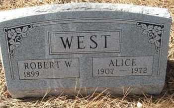 WEST, ALICE - Coconino County, Arizona | ALICE WEST - Arizona Gravestone Photos