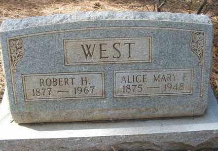 WEST, ALICE MARY - Coconino County, Arizona   ALICE MARY WEST - Arizona Gravestone Photos