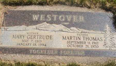 WESTOVER, MARY GERTRUDE - Coconino County, Arizona | MARY GERTRUDE WESTOVER - Arizona Gravestone Photos