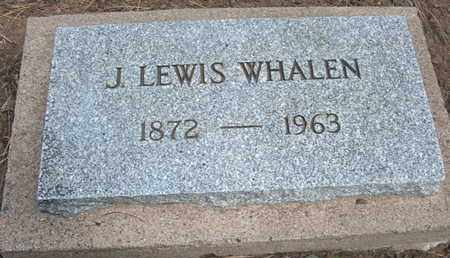 WHALEN, J. LEWIS - Coconino County, Arizona | J. LEWIS WHALEN - Arizona Gravestone Photos